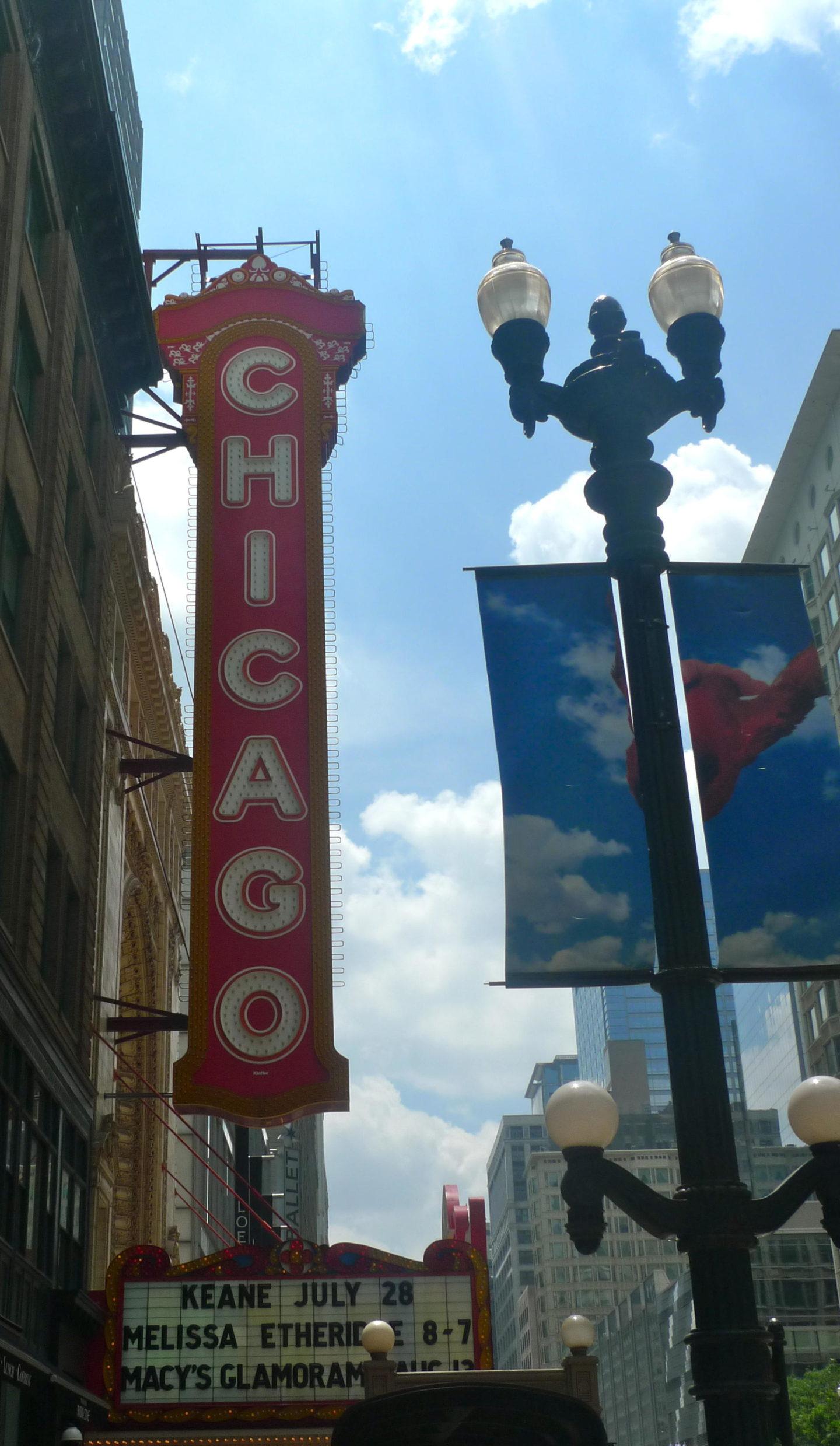 Chicago theatre show, Chicago USA
