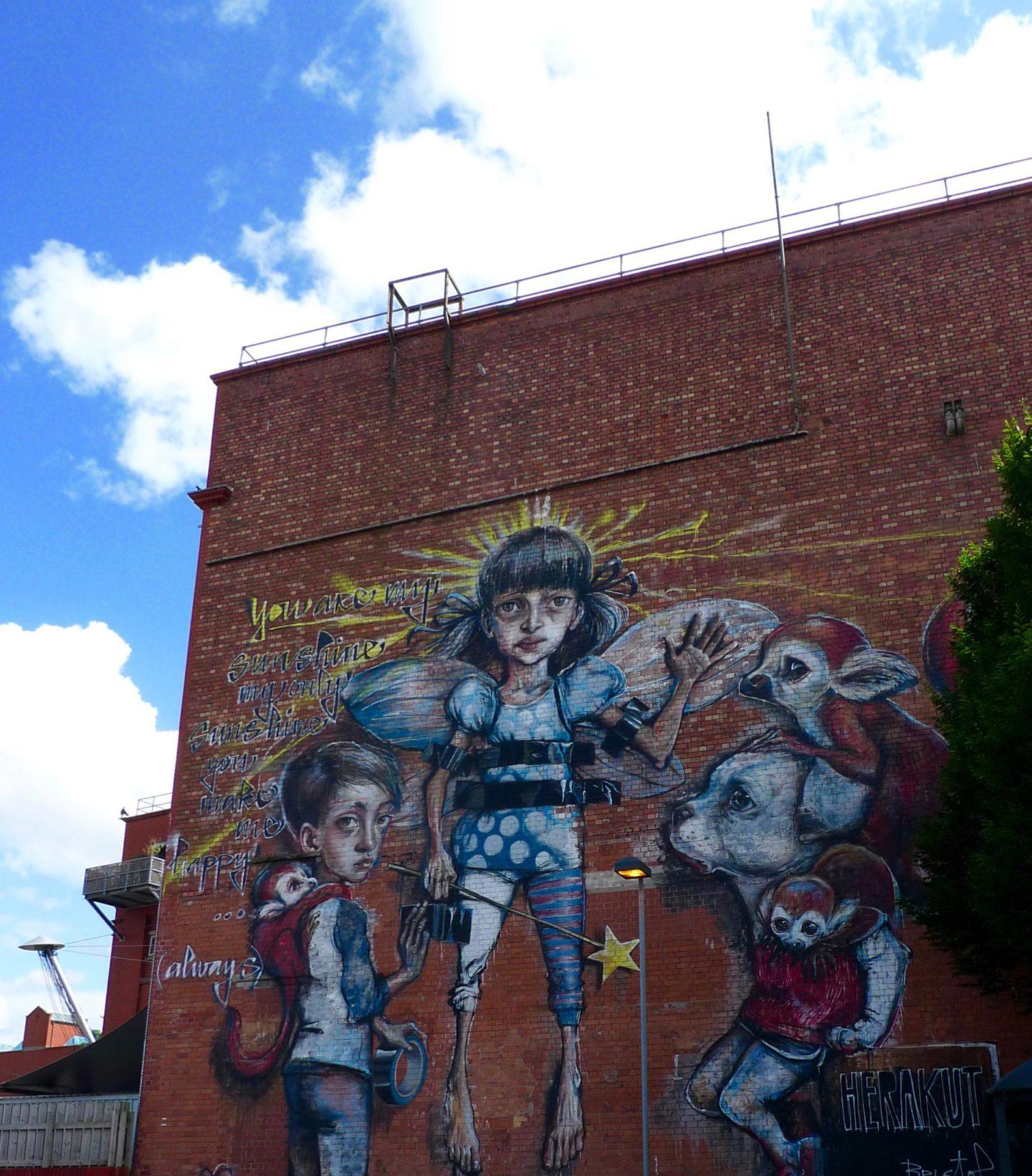 Banksy, Street art in Bristol