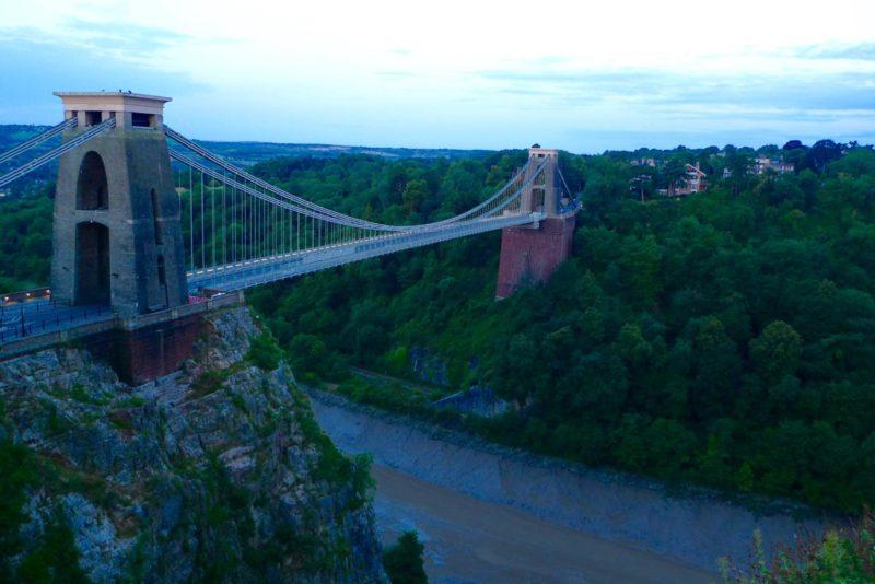 The best sunrise in Bristol, Clifton suspension bridge