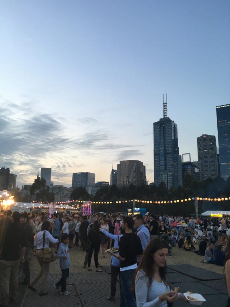 Marvellous Melbourne Night Noodle market 2015