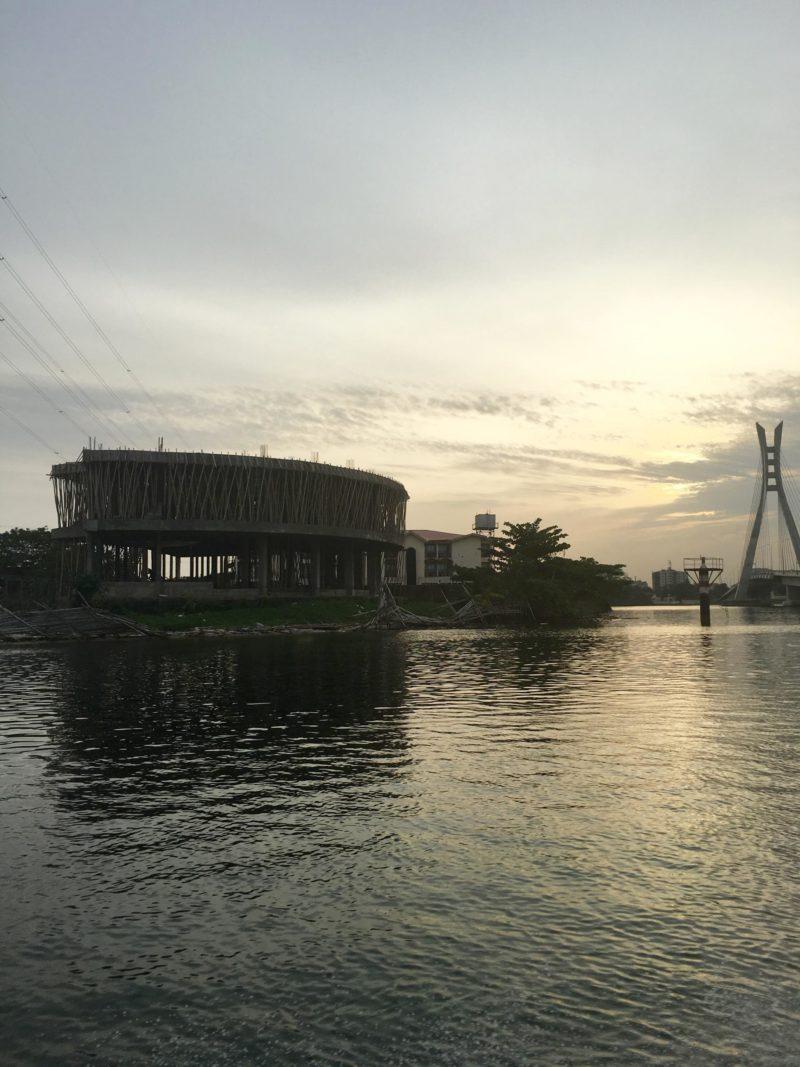 Sunset over Lekki, Lagos 2016